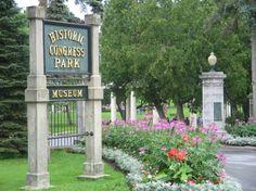 Congress Park Saratoga Springs NY