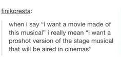 Yessss #theatrekidproblems