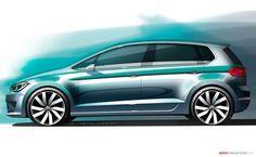 OG |Golf Sportsvan | Design sketch
