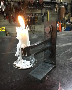 Pat Quinn (@handforgedinvt) - Working on some ideas for a new intermediate forging and joinery class! @centerformetalart