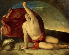 Dosso Dossi Sapiente con compasso e globo - Dosso Dossi, painting Authorized official website