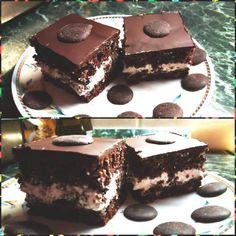 Zabos Túró Rudi szelet - Ikeásban csináltam, finom lett! fél tábla csoki is elég hozzá, és kicsivel több cukor kell a krémbe