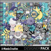 Midnight Snack Bandit by A-Manda Creation a great digital scrap kit for bed time, sleepy time and nighty nighty photos