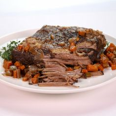 Red Wine Braised Brisket Michael Symon - thechew.com