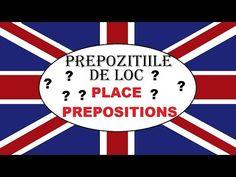 Invata engleza | GRAMATICA | Prepozitiile de loc - YouTube