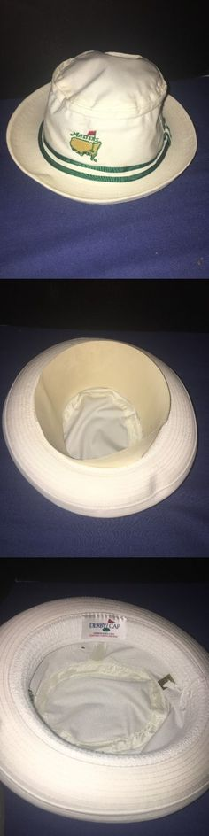 Golf 428: New Masters Golf Bucket Hat White From Augusta National Golf Club - Size S M -> BUY IT NOW ONLY: $35 on eBay!