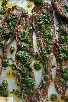 Argentinian Short Ribs with Chimichurri |