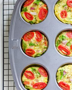 Egg Frittata Breakfast Muffins