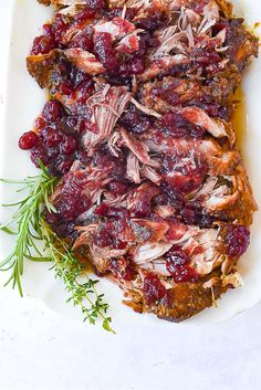 Crockpot Cranberry Pork Recipe | by Leigh Anne Wilkes