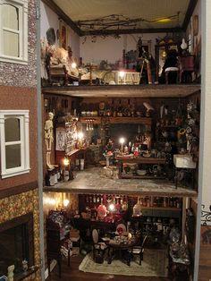 haunted dollhouse | Witch Dollhouse ~ Amazing!