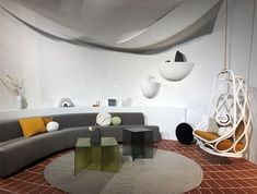 """The title of their design for Das Haus 2020 – """"A la fresca!"""" – already hints at the direction the interior concept by Spanish design team MUT Design points in: Outdoor Rugs, Outdoor Chairs, Interior Concept, Interior Design, Rest Area, Spanish Design, Rustic Style, Garden Furniture, Rattan"""