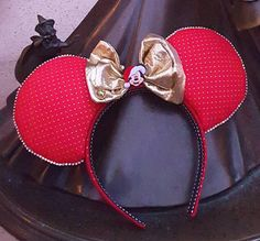 Holiday Mouse Ears by DoodadsByDesign on Etsy