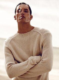 GQ Spain (GQ Spain). November 2014. Alvaro Beamud Cortes - Photographer. Luciano Chiarello - Makeup Artist. Dominik Bauer - Model.