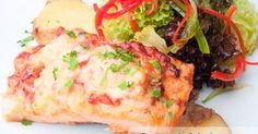 Fabulosa receta para Cancato del Sur de Chile. Un plato típico del sur de Chile (Puerto Montt) para disfrutar del sabor del salmón