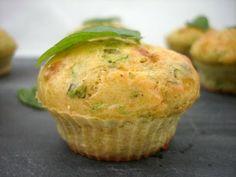 muffins aux courgettes à la menthe