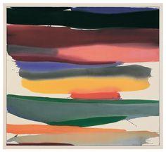 "arsvitaest: "" Gretchen Albrecht, Indian Summer, 1974 Acrylic on canvas (source) "" Abstract Words, Abstract Art, New Zealand Art, Funky Art, Illustration Sketches, Illustrations, Color Studies, Indian Summer, Beautiful Artwork"