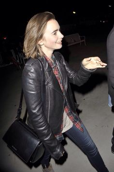 Lily Collins arriving Matt Smith's Concert at The Greek Theater (Sept. 30)