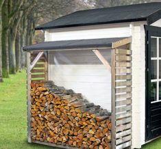 Moderne haardhout opslag met waterdicht afdakje. Koop deze haardhoutberging voordelig bij houthandel Gadero. Gadero Productnr: DE7038