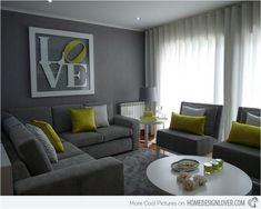 Black White And Gray Living Room Decor