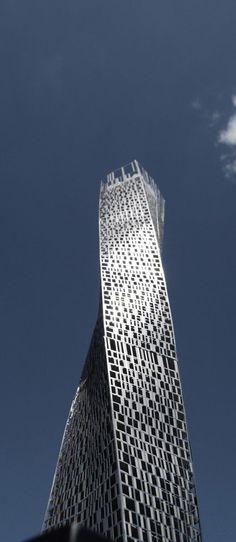 Infinity Tower, Cayan Tower, Dubai,: