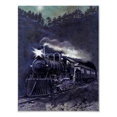 Magical Steam Engine Victorian Train