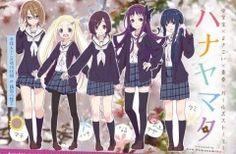 Sentai Filmworks Acquires 'Hanayamata' Anime License | The Fandom Post