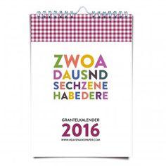 Bayrischer Grantelkalender 2016 | design3000.de