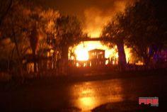 San Antonio Fire Scene Photos 2008