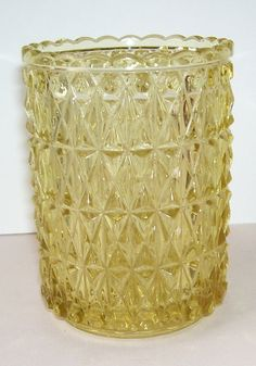 Victorian EAPG  Spooner Gold  Glass Celery by SwanCreekCottage, $18.00