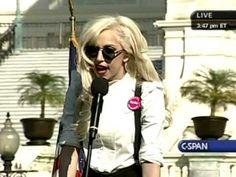 For my living rhetor, I chose Lady Gaga.