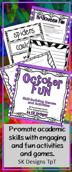 Engaging, Skill Building Games And Activities To Promote Critical Thinking  And Important Academic Skills