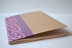 "Small notebook ""Pink & Purple"" by MoiselleEve on Etsy, $4,00"