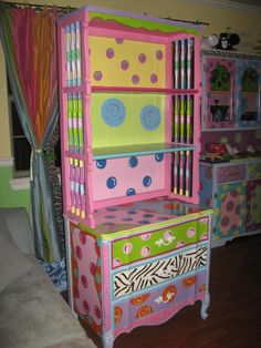 adorable for a little girls room or an adult's craft room