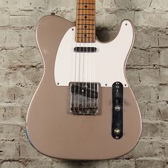 In early Fender renamed its only production solid-body guitar the Telecaster, replacing the short-lived Broadcaster moniker used in late The Fender Esquire, Telecaster Thinline, Beautiful Guitars, Body Electric, Fender Guitars, Cool Guitar, Popular Music, The Struts, The Originals