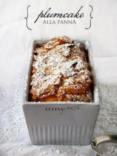 Plumcake alla panna. Cucina Ghiotta blog