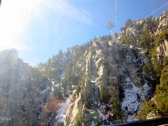 Palm Spring Aerial Tramway, looking up!