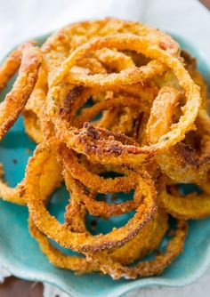 Oven Baked Onion Rings , Weight Watchers Recipes , 3 Smart Points