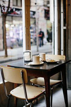 Dolc i Salat Cafe in Barcelona.