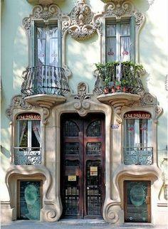 Art Nouveau Building 2