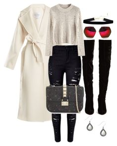 """""""Untitled #2175"""" by social-outcast-16 on Polyvore featuring MaxMara, Valentino, Spitfire and Christian Louboutin"""