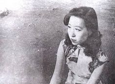 Eileen Chang / Ailing ZHANG: famous intellectual and writer....it was said she loved the Qipao so much that she was never without one over her skin....