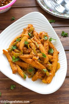 A perfect party starter or it also goes as a yummy side dish when served with fried rice, noodles or pulaos. Baby Corn Recipes, Satay Recipe, Vegan Baby, Fried Rice, Indian Food Recipes, Side Dishes, Mini, Rice Noodles, Snacks