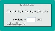 ExceLuisABN Matemática y Excel: Calcula la Mediana, con ThatQuiz.