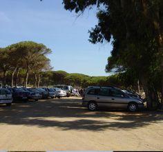 Playa Central en Isla Cristina (Huelva).