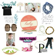 Spray Pal is giving away some cute and funky baby clothes and accessories, including @Freshly Picked and a #makeclothmainstream t-shirt!