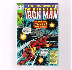 IRON MAN #23 Grade 8.5 Bronze Age find from Marvel Comics!! http://r.ebay.com/cJB7pV