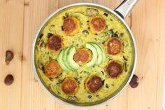 Dal Kofta | Lentil Balls in Curry Sauce | Gourmandelle