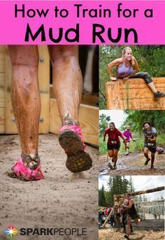 Are you training for a mud run? How should you go about it? We're glad you asked because we have answers! Try this new kind of workout training, run, have fun and get messy! #runningtraining