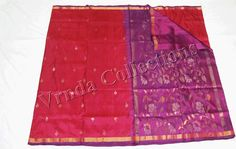 Uppada Jamdhani Saree  For price , please contact vrndacollections@gmail.com or contact/whatsapp +91 88612 55270