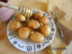 Greek Recipes, Wine Recipes, Cyprus Food, Mediterranean Recipes, Doughnuts, The Fresh, Healthy Cooking, Street Food, Delish